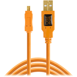کابل یو اس بی Tether Tools TetherPro USB 2.0 Type-A Male to Mini-B Male Cable CU8015